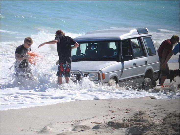 Not how you want your 4WD to end up!