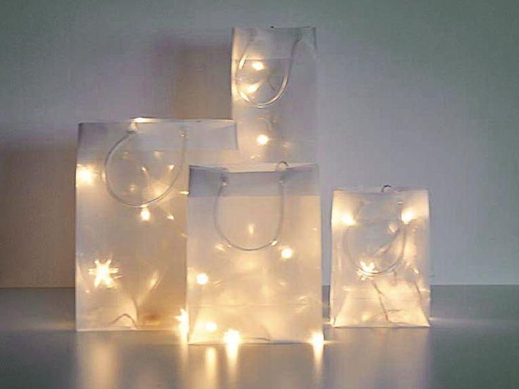 Bildergebnis für windlichter basteln weihnachten mit 3d folie