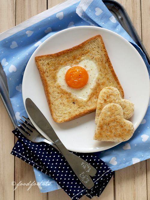 Egg in a basket (egg in toast)