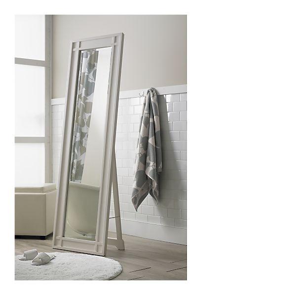 11 best home decor mirrors images on pinterest floor for White framed floor length mirror