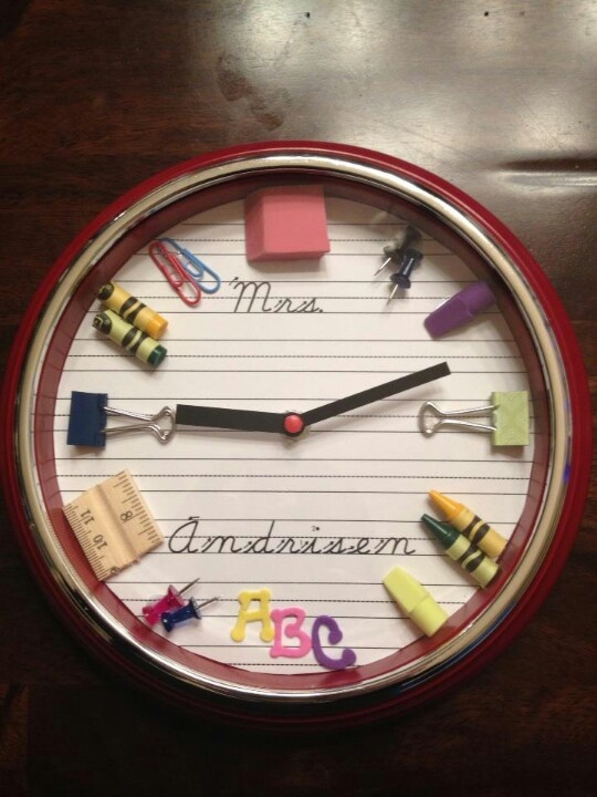 Great teacher gift idea