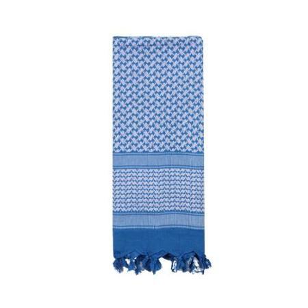 Light Blue and White Shemagh, Arab Head Scarf, Kafiya, New