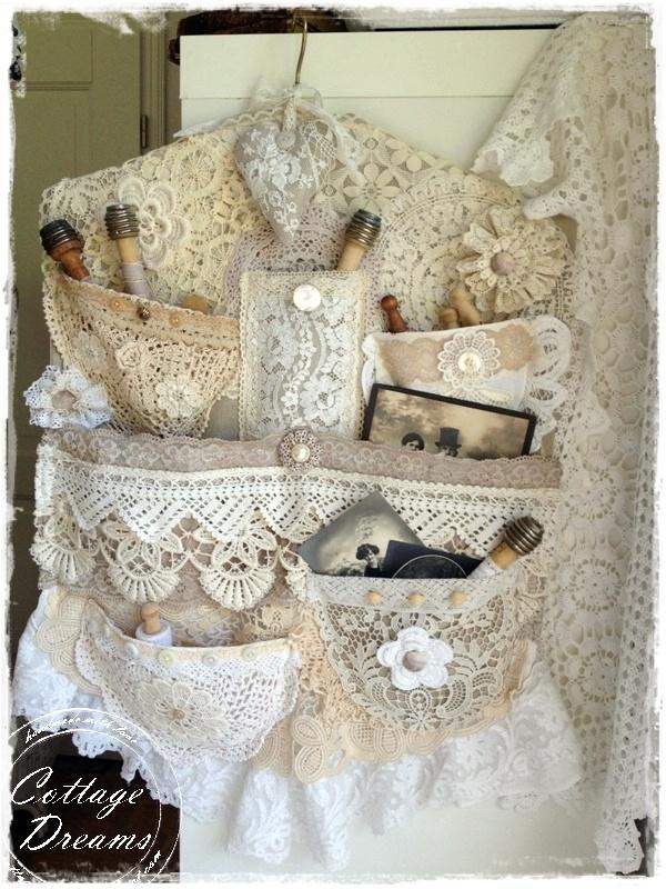 LACE, LACE ,LOVE LACE...Cottage Dreams: garden, flea market .... Lace