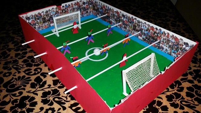 Sinterklaas surprise voetbaltafel