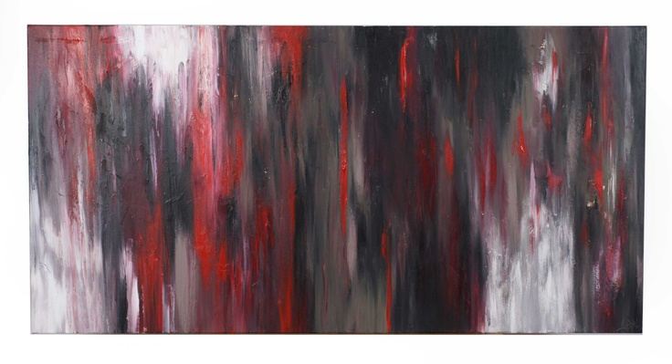 Live at the BA, 60x30, Acrylic on Canvas, 2010