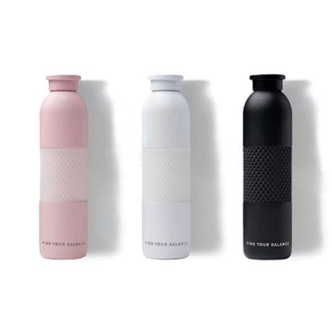 96cb3c5a94 Metal Water Bottles - Black in 2019 | Little Things | Glass water bottle,  Lokai water bottle, Stylish water bottles