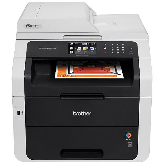 Brother Wireless Color Laser LED All-In-One Printer