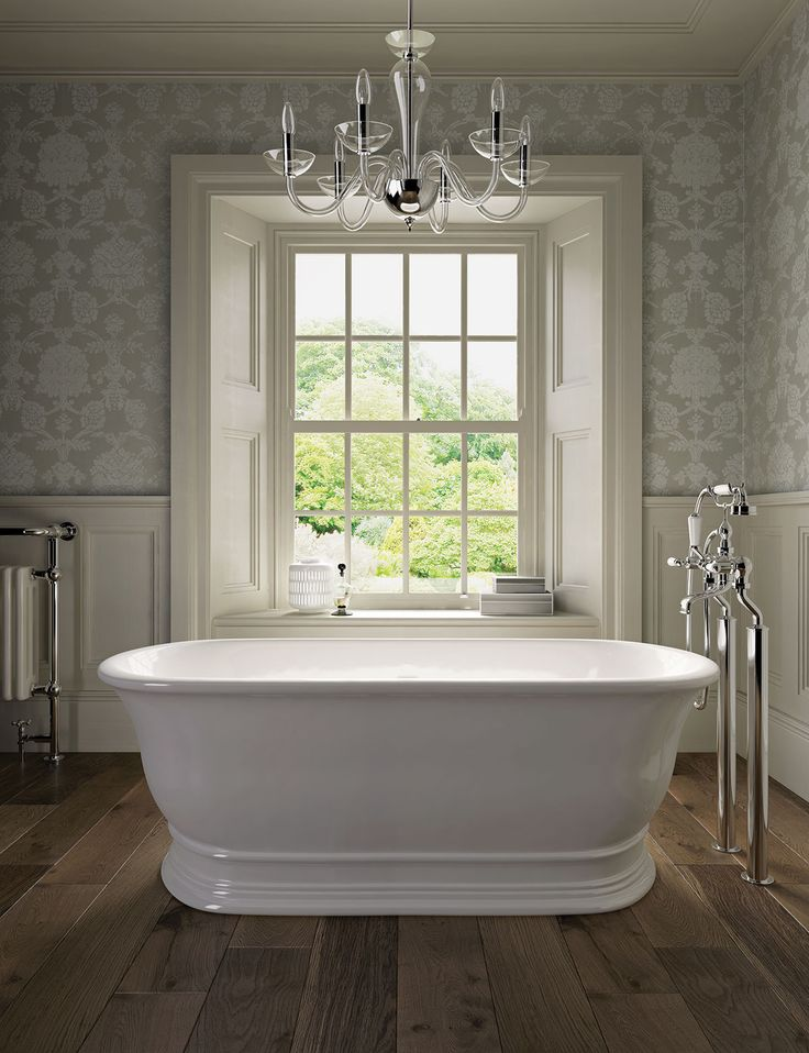 Inspired by the fireclay baths of the early 20th Century, the hand-finished Aurelius is made from a single, solid casting, using a composite material for durability and heat-retention.