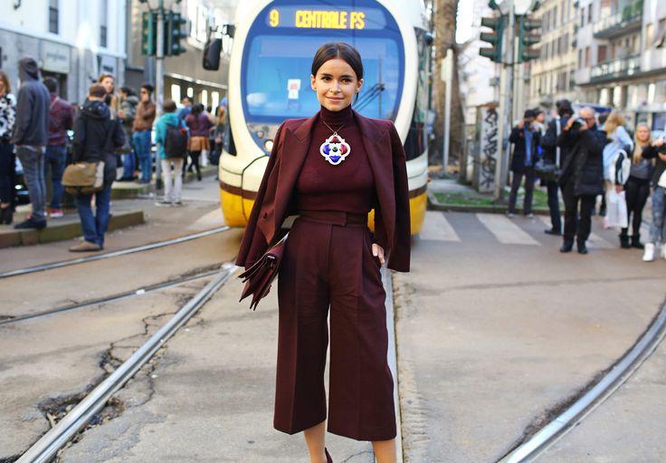 Calça Cropped   Mais em www.marinabruno.com.br