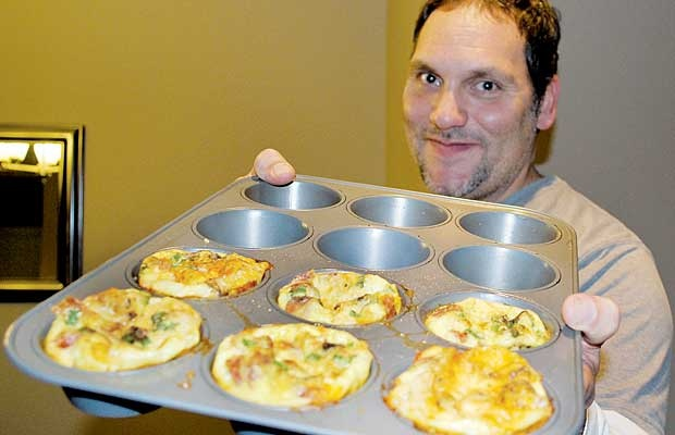Troy Landreville invites you to try his Breakfast Pucks – one of dozens of recipes shared by the community through the Times over the past two years.