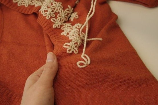 How to make a basic sweater something special by patty