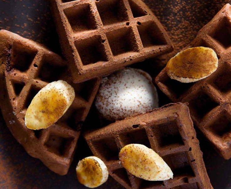 Cómo hacer Gofres: receta gofres de chocolate #gastronomía http://blgs.co/itX56Z