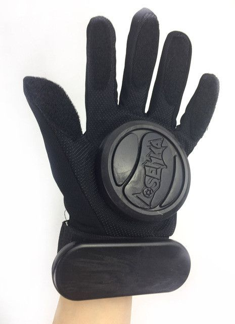 Hot Durable Teenager&Adult Skateboard Longboard Slide Gloves With Slider Professional Protective Hand Gloves For Skating Protect