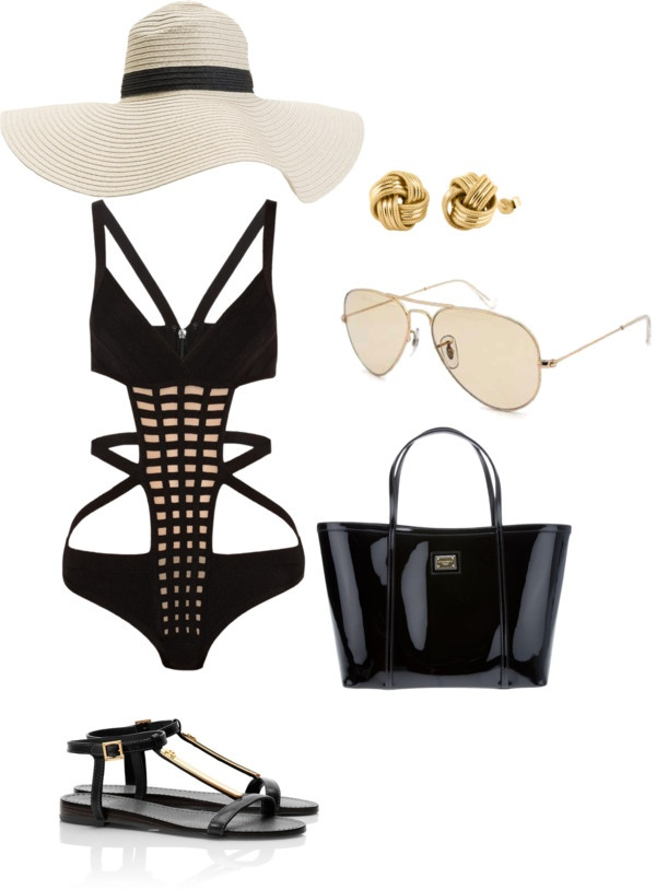 """Las Vegas Pool Party"" by bryn-terrell on Polyvore"