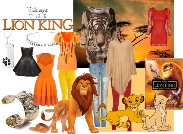 """Lion King"" by fluffy-lumpin-bunnies ❤ liked on Polyvore"