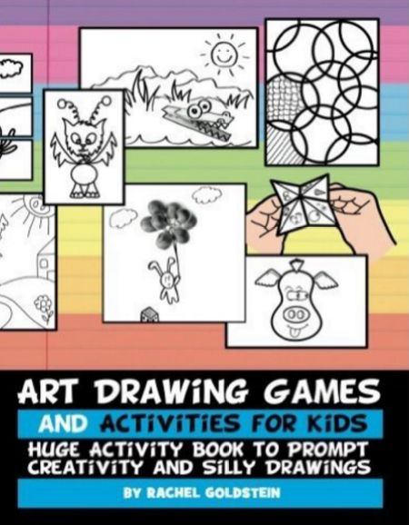 book filled with fun drawing games and activities for kids books creativity