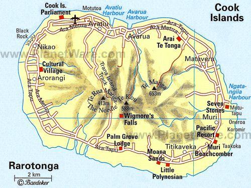 Cook Islands - Map