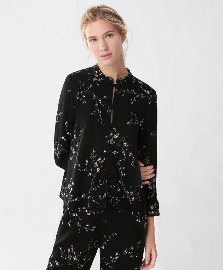 Camisa flor cerezo - Ver Todo - Tendencias AW 2016 en moda de mujer en Oysho…