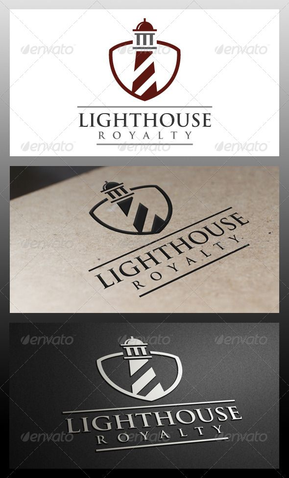 Lighthouse Royalty | #corporate #branding #creative #logo #personalized #identity #design #corporatedesign < repinned by www.BlickeDeeler.de | Have a look on www.LogoGestaltung-Hamburg.de