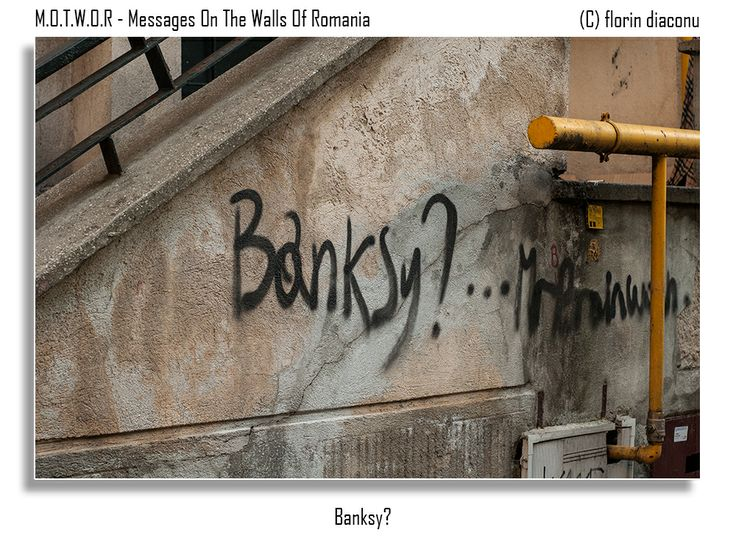 Message: Banksy?  Location:The Apostle Saints Street (Strada Sfintii Apostoli) - Bucharest