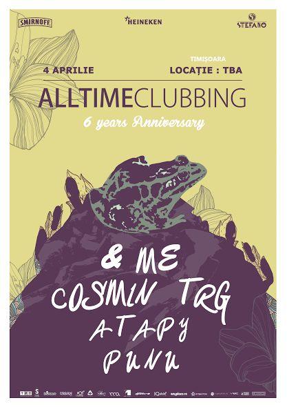 6th Anniversary - Timisoara - &me, Cosmin TRG, Atapy, Punu.