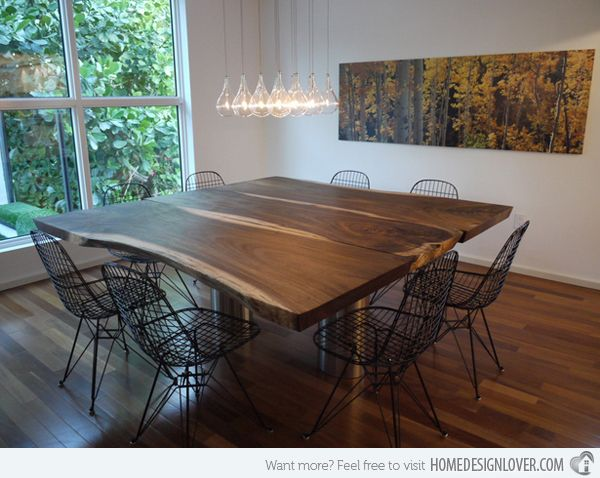 15 Charming Square Dining Room Tables