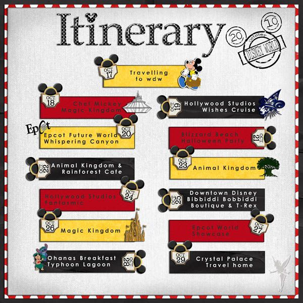 192 Best Disney Scrapbook Layouts Images On Pinterest | Disney