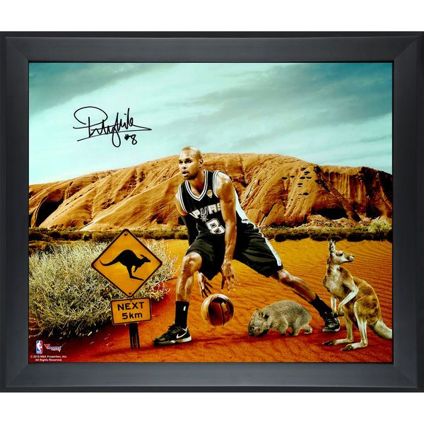 Patty Mills San Antonio Spurs Fanatics Authentic Framed Autographed 20'' x 24'' Aussie Collage Photograph - $149.99