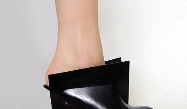 Zapatos de diseño... futurista