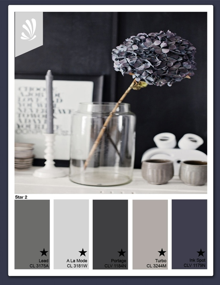 Slate grays