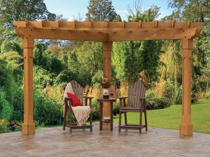 Best 25 pergola pictures ideas on pinterest patio for How to build a corner pergola