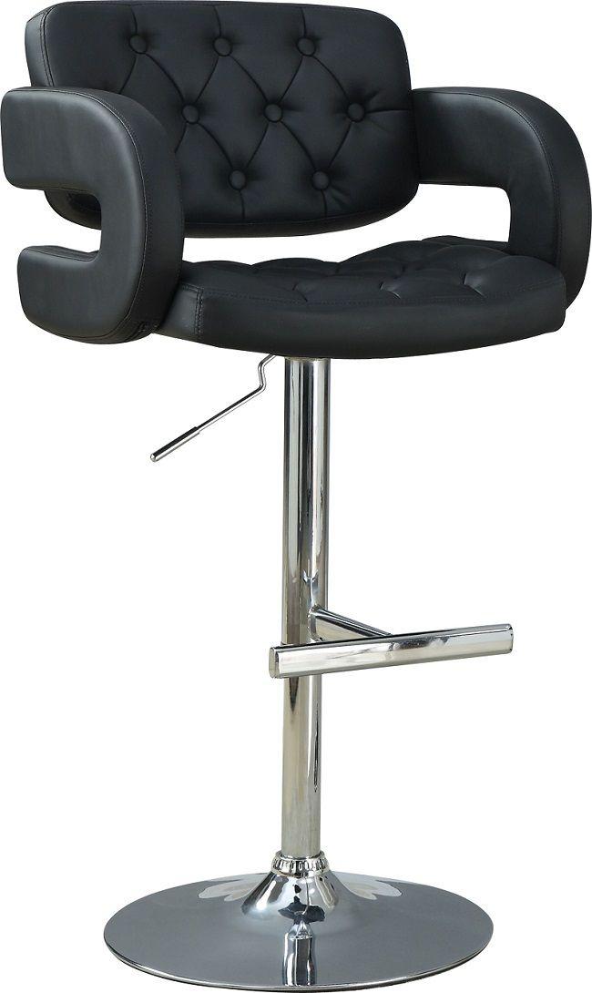 Contemporary Collection 102555 Coaster Adjustable Bar Stool