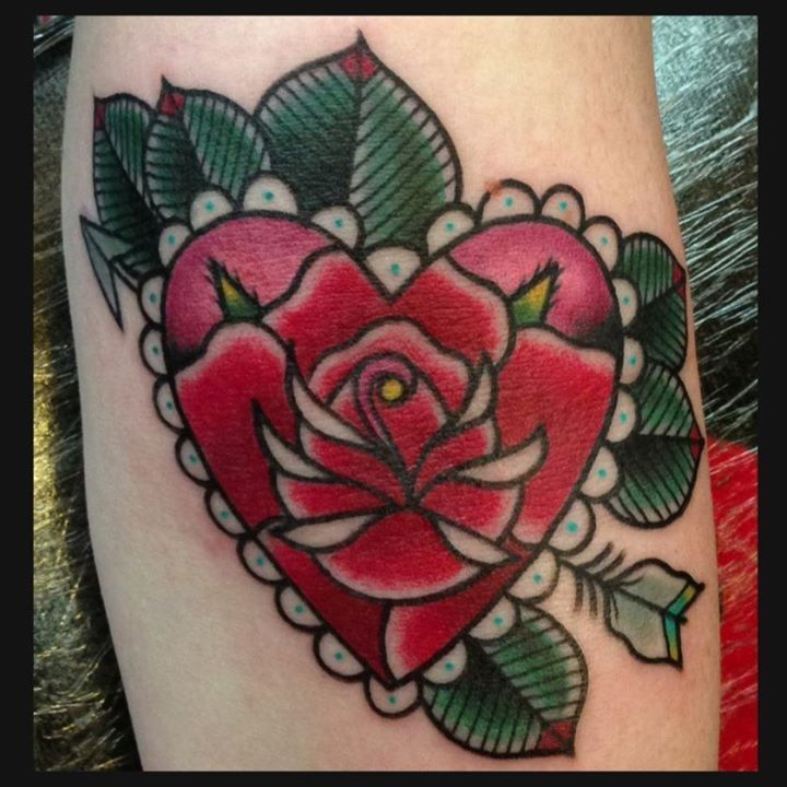 33 best diamondshaped as a broken heart tattoo images on