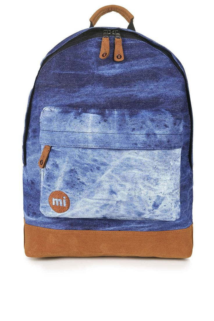 **Denim Backpack by Mi-Pac