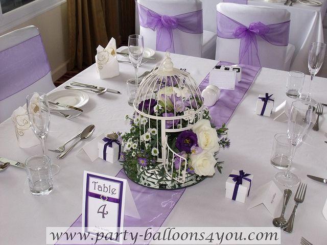 Purple And White Wedding Decorations Wedding Wedding Wedding