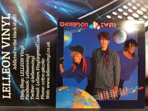 Thompson Twins Into The Gap LP Album Vinyl Record 205971 Pop 80's Music:Records:Albums/ LPs:Pop:1980s