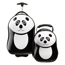 The Container Store > Ping the Panda Rolling Luggage & Backpack