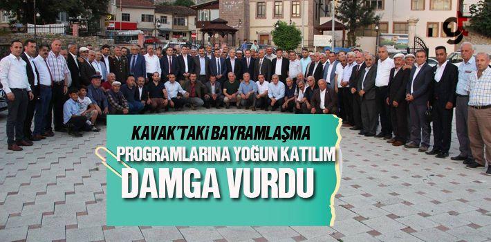 Samsun Haber: kavak'taki Bayramlaşma Programlarına Yoğun Katılım Damga Vurdu