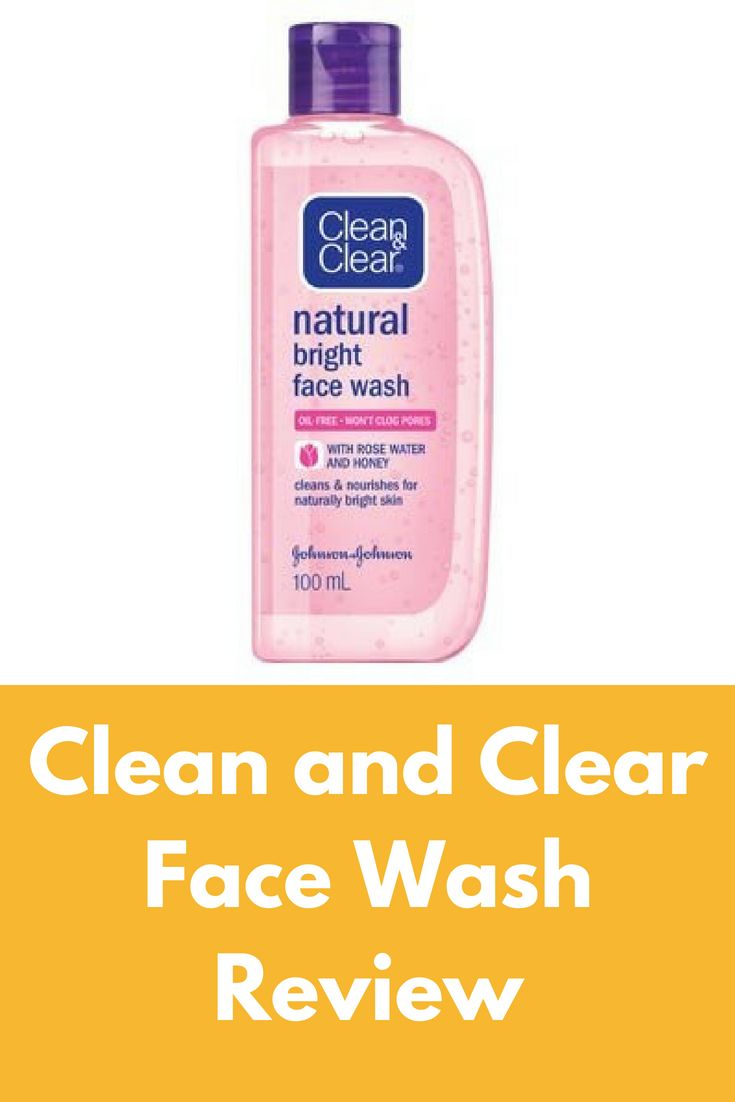 Clean and clear facial wash — img 9