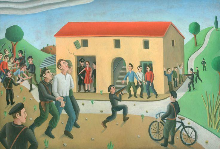 Tav. LXXXIV - La delatrice Il 20 giugno 1944 i fascisti arrestavano, durante un rastrellamento in Via Roma a Jesi, una ventina di ragazzi. E...