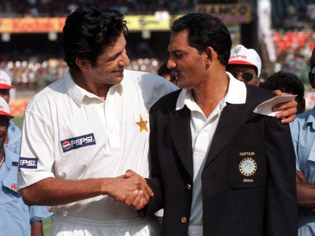 Wasim Akram toughest bowler I have faced says Mohammad Azharuddin - The Express Tribune
