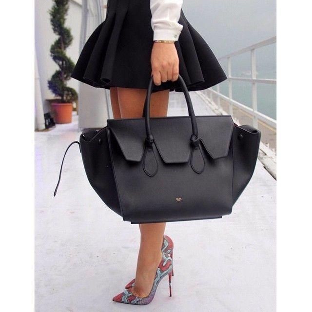 "@gunduzguzeli's photo: ""Celine + louboutin #celine#tiebag#celinetie#celinebag#totebag#handbag#miniskirt#christianlouboutin#louboutin#sokate#pumps#luxury#love#snakeskin#louboutinworld#highheels#heels#shoeporn#shoegasm#shoegame#streetstyle#streetfashion#ootd#fashionista#fashiondiaries#fashioninspo#fashionphotography"""