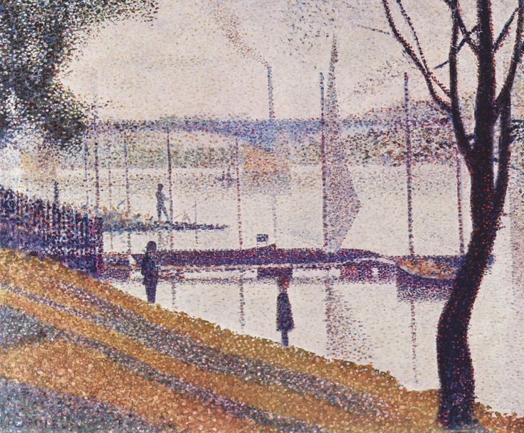 Georges Seurat  Seurat Pointillism Paintings   Seurat and the Golden Ratio in Art Composition