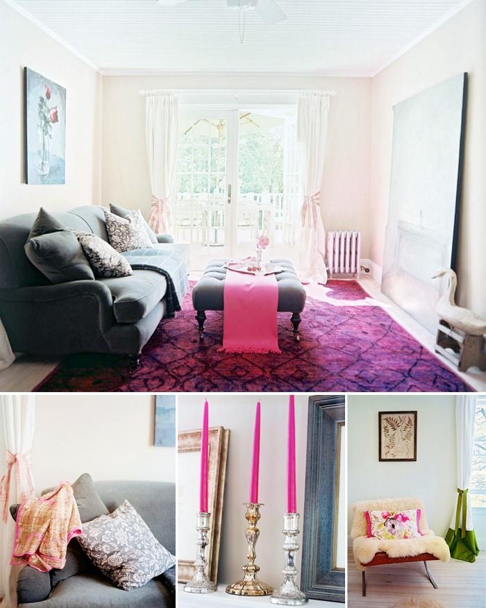 65 Best Pink Living Room Images On Pinterest
