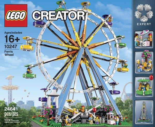 LEGO Creator Expert 10247 Ferris Wheel - See more on www.hothbricks.com