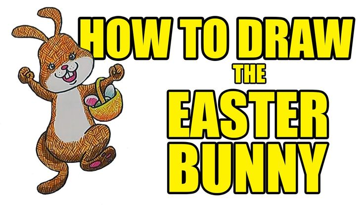 How To Draw The Easter Bunny | Drawing Lessons