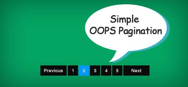 Panduan Simple Membuat Paging Meggunakan PHP Gak Pake Bingung