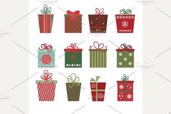 Christmas Gifts Vector Christmas Gift Vector Gift Vector Christmas Gifts