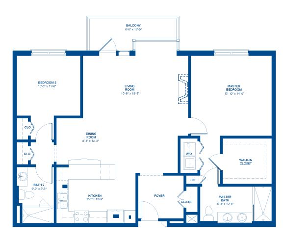 1500 Sq Ft House Plans Open Floor Plan 2 Bedrooms
