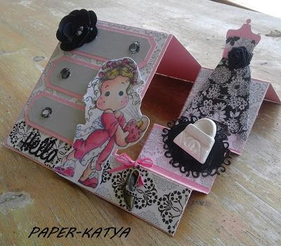 Le Tre Pazze PAPERine: SIDE STEP CARD